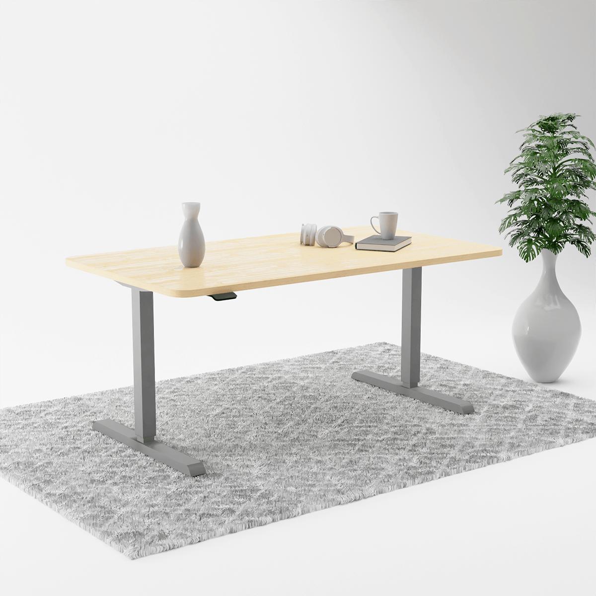 300Grey Maple height adjustable table