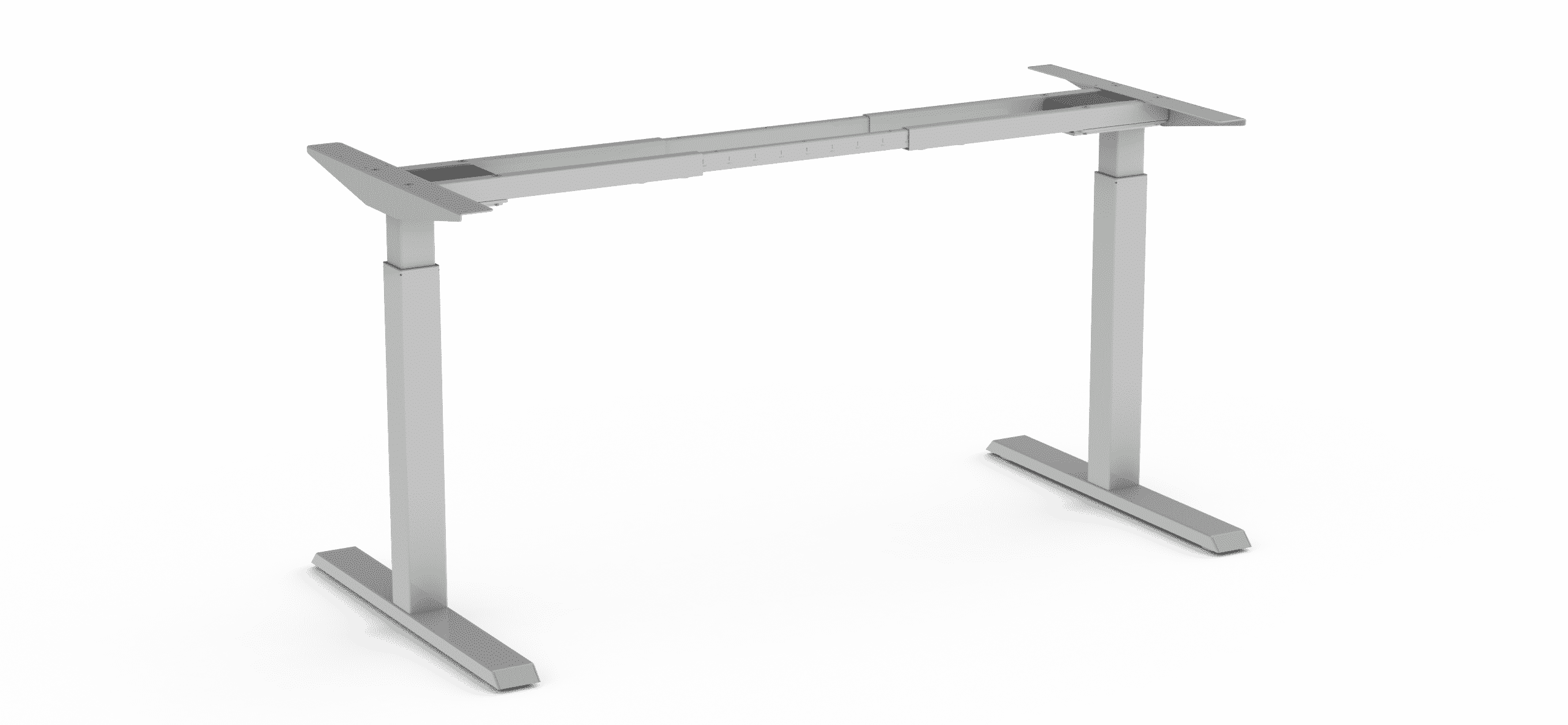 370 Silver height adjustable table