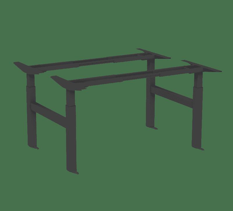 370 bench black standing desk