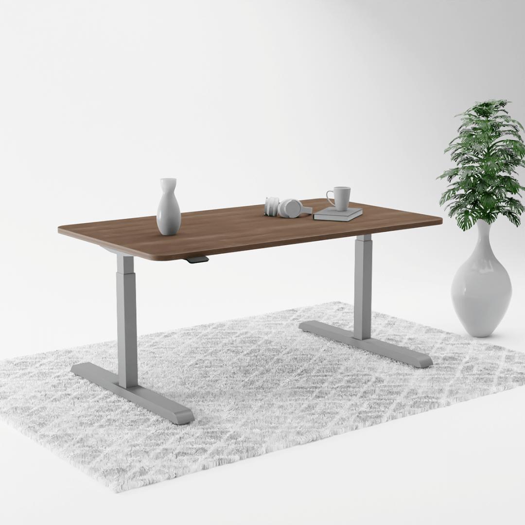 370Grey AcaciaD height adjustable table