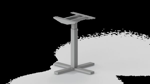 370SC Silver standing desk