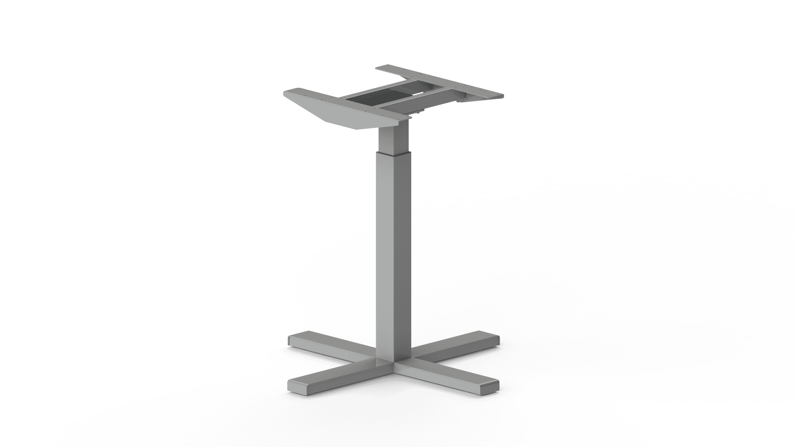 370SC Silver height adjustable table