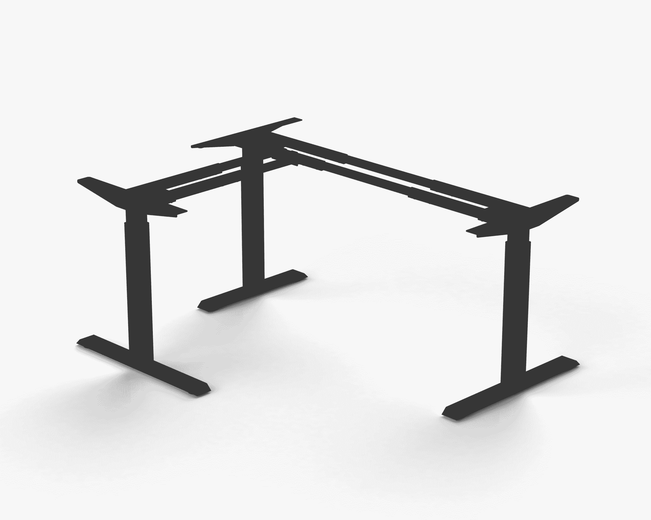 371 Black standing desk