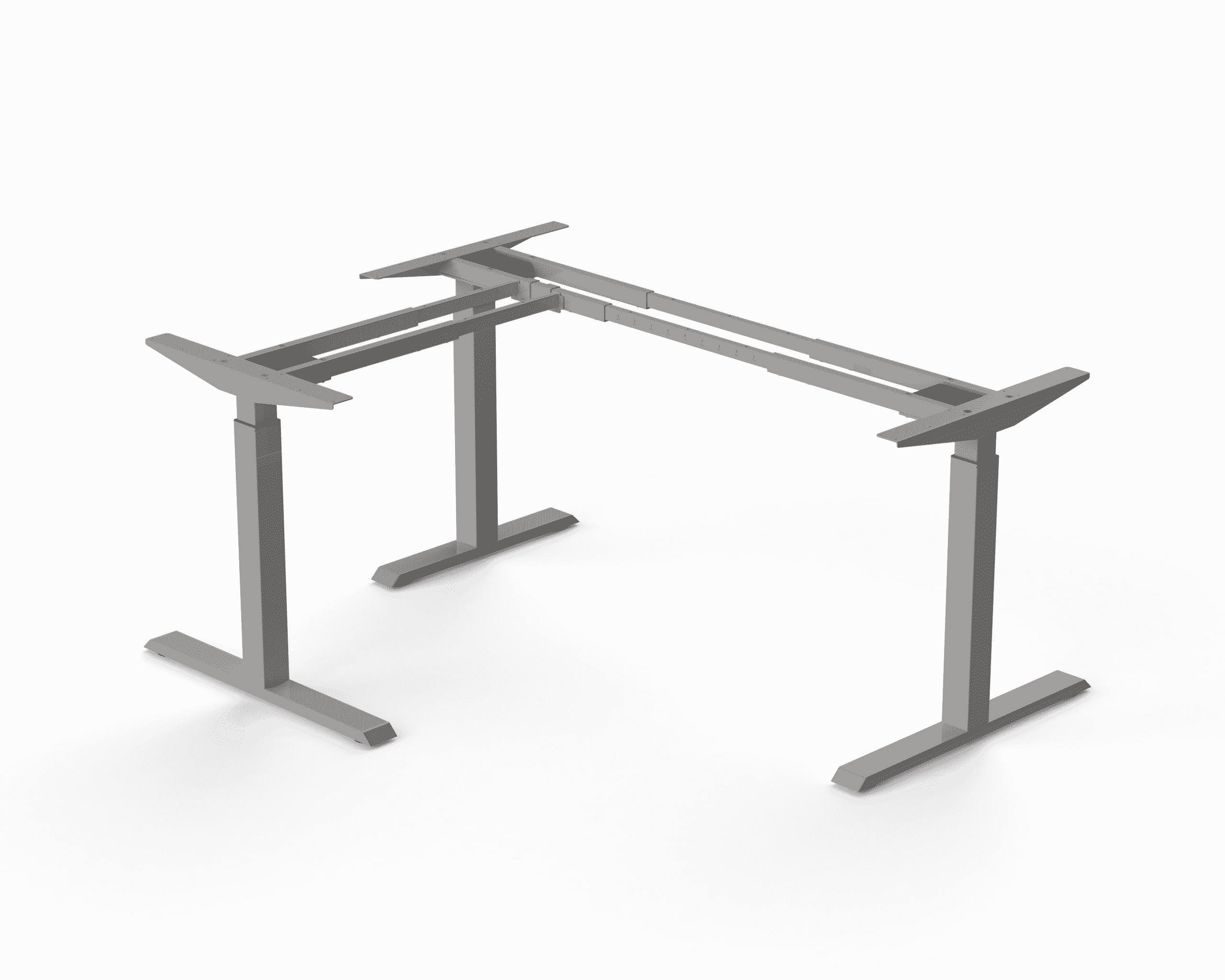 371 Silver standing desk