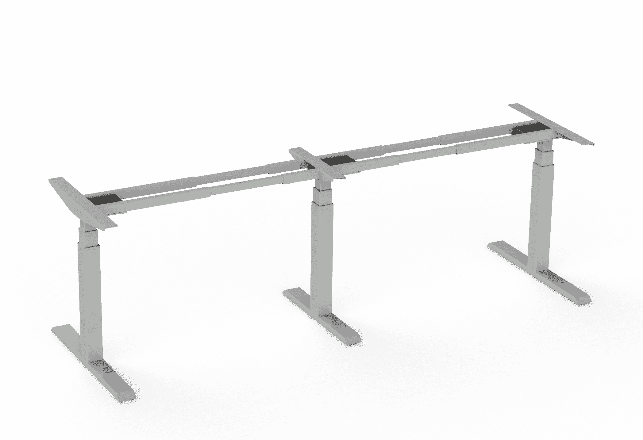 375 Silver height adjustable table