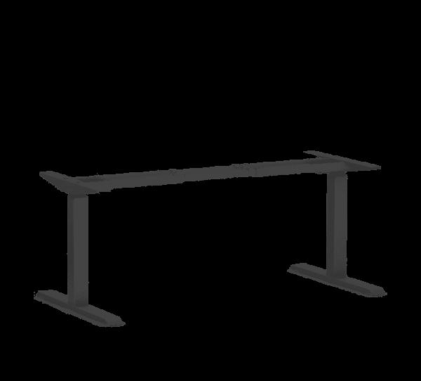 470 Sitting black standing desk