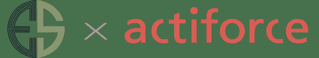 Ergosphere and Actiforce collaboration logo