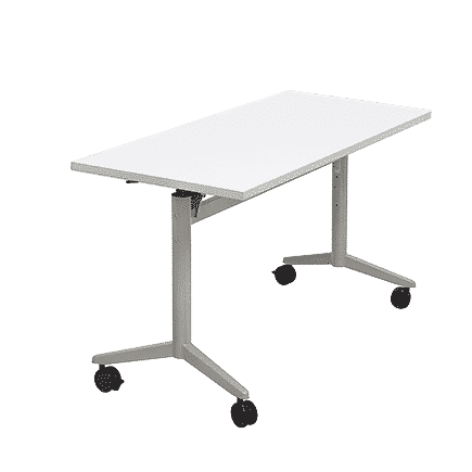 folding table flip top table